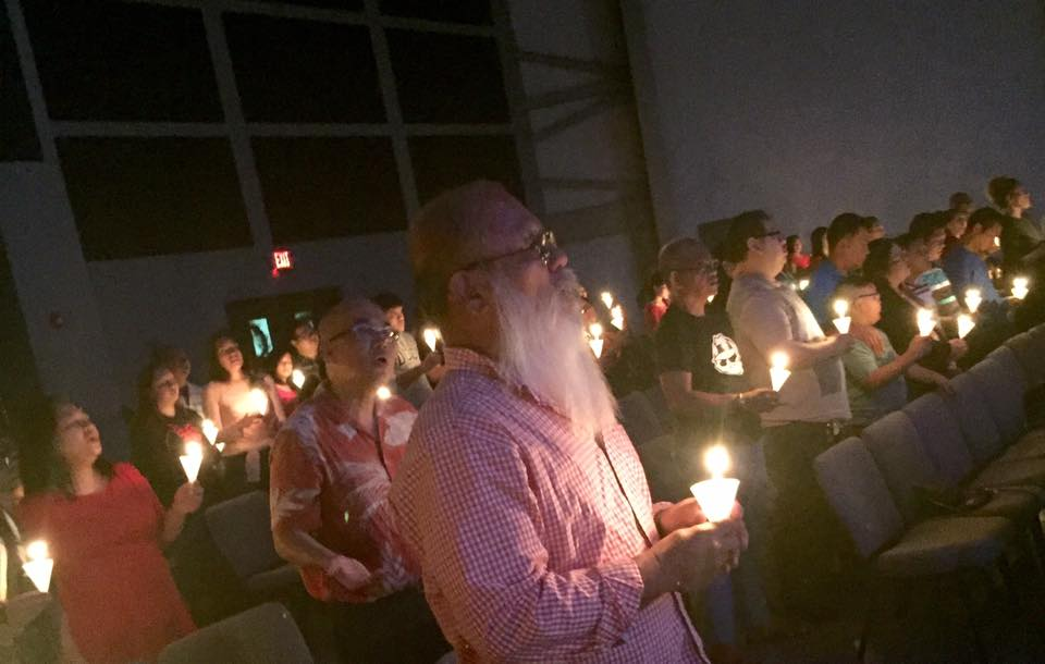 2016 Pre-Christmas eve candlelight service
