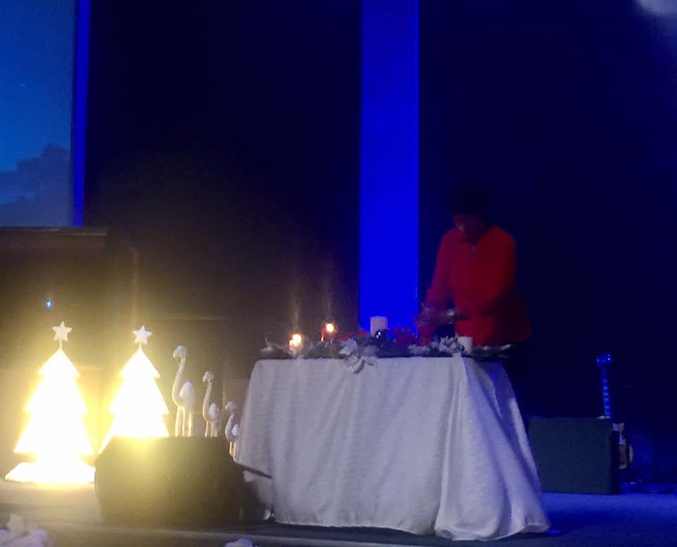 2016 Pre-Christmas eve candlelight service
