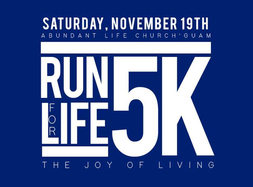1st  Annual ALC Run for Life 11-19-2016
