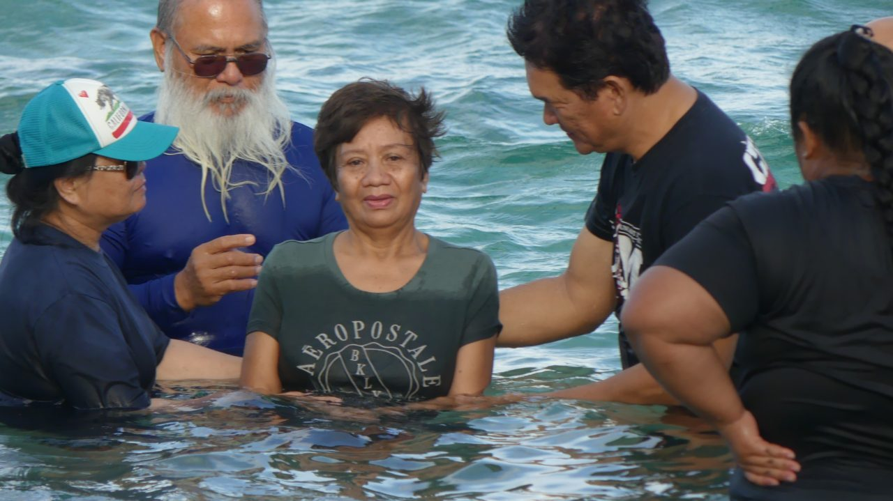 Water Baptism 2-26-2017